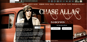 Chase Allan Website (31-05-2014)