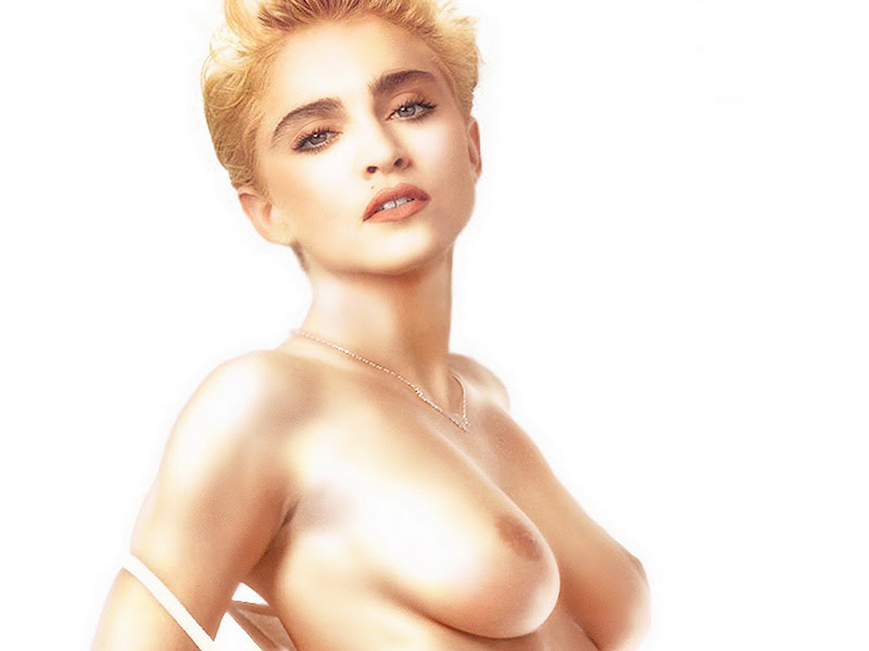 Madonna Young Naked