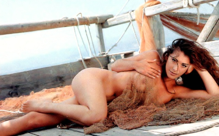 Sabrina Salerno, Nude