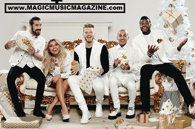 Pentatonix Christmas Deluxe.New Single Away In A Manger New Album A Pentonix
